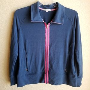 Fairway and Greene Zip Front Jacket Size Large